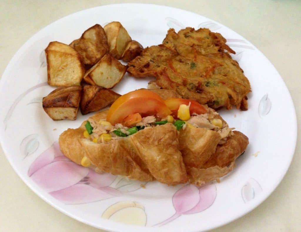 28 June- Tuna Croissant