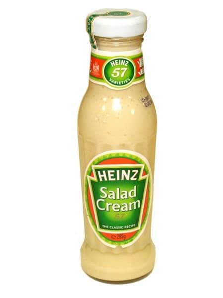 3 July- Heinz salad cream