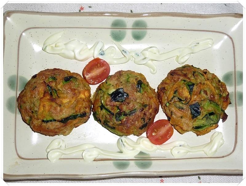 August 1- Zucchini Patties