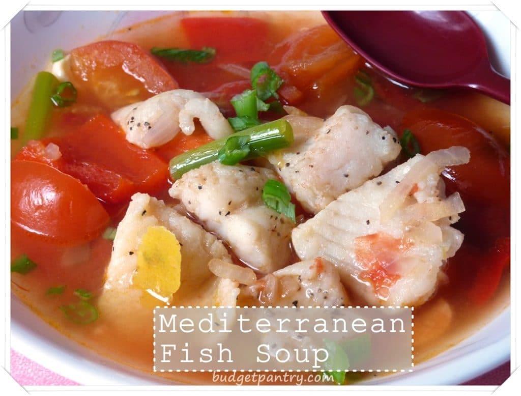 Sept 12- Mediterranean Fish Soup1