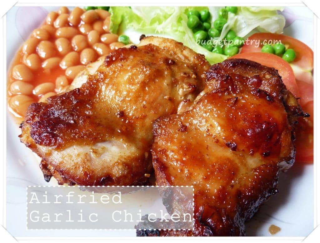Airfried garlic chicken chop with worcestershire sauce sept 13 airfried garlic chicken forumfinder Gallery