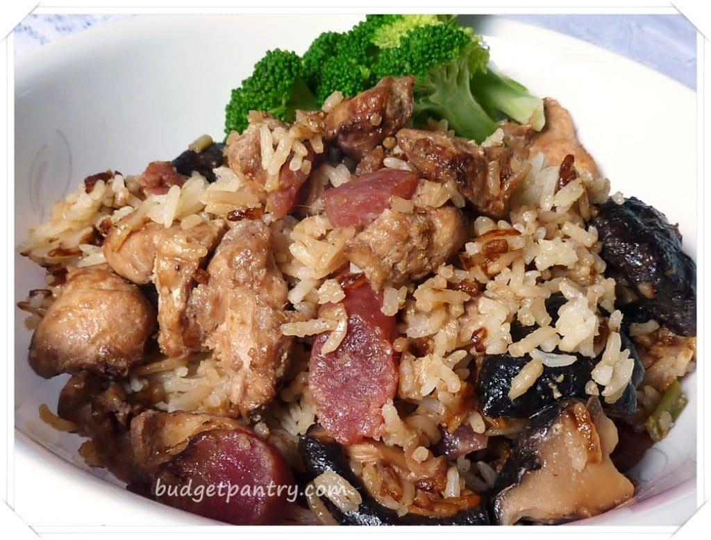 Sept 24- Rice cooker claypot rice 2