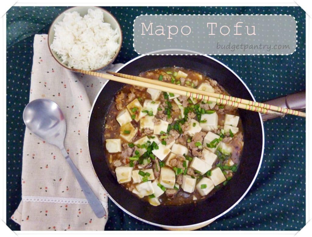 15 Oct- Mapo Tofu