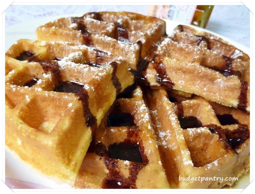 Oct 10- Crispy Butter Waffles1