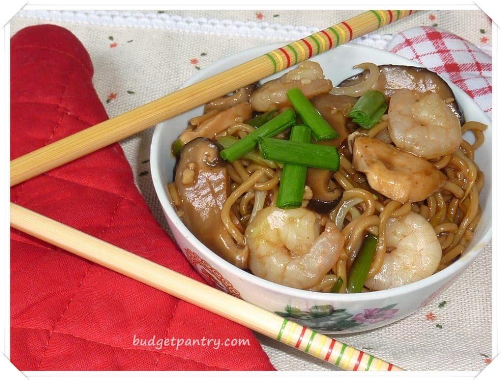 Oct 4- Braised Ee-Fu Noodles1