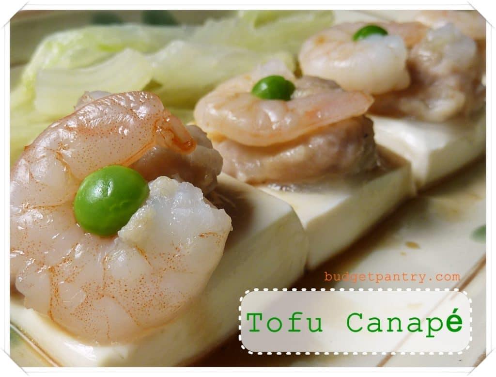 4 November- Tofu Canape