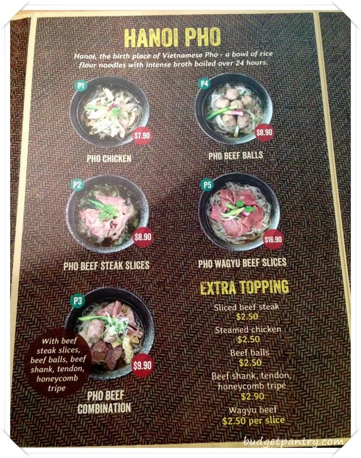 nam nam menu 1