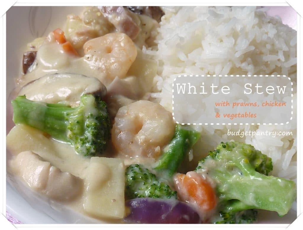 Dec 19- White Stew