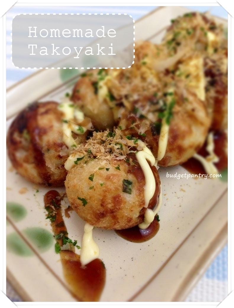 Dec 30- Homemade Takoyaki
