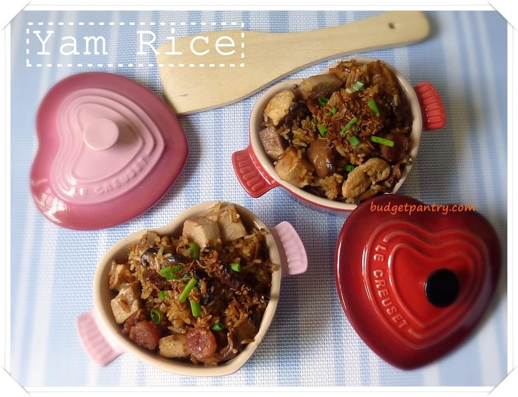 Rice Cooker Yam Rice 芋头饭