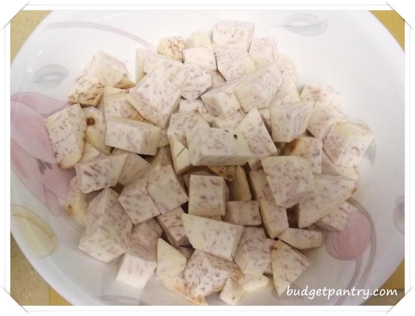 Jan 14- Yam Rice Taro
