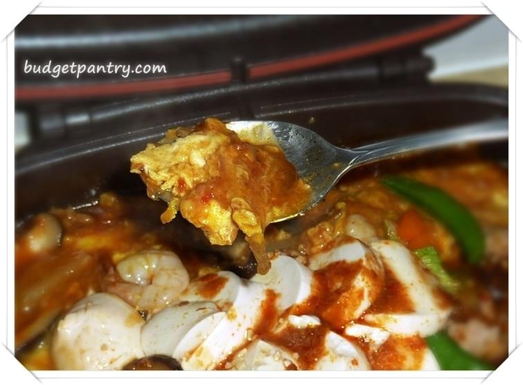 Jan 9- Happy Call Hotplate Tofu Gravy