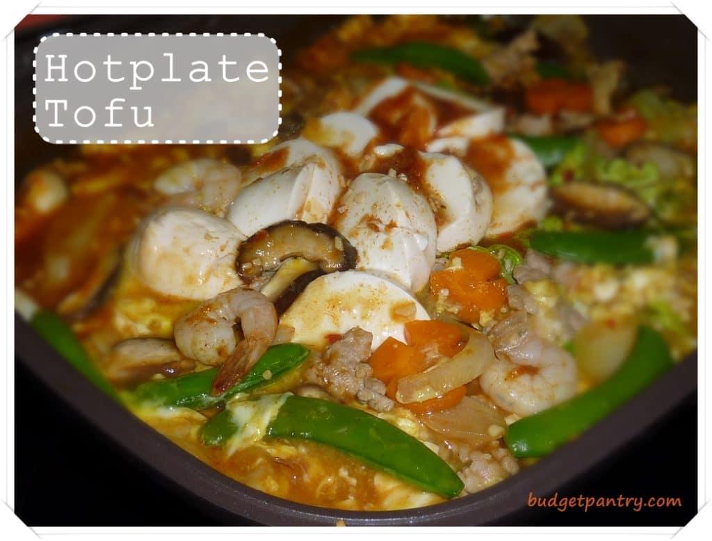 Jan 9- Happy Call Hotplate Tofu