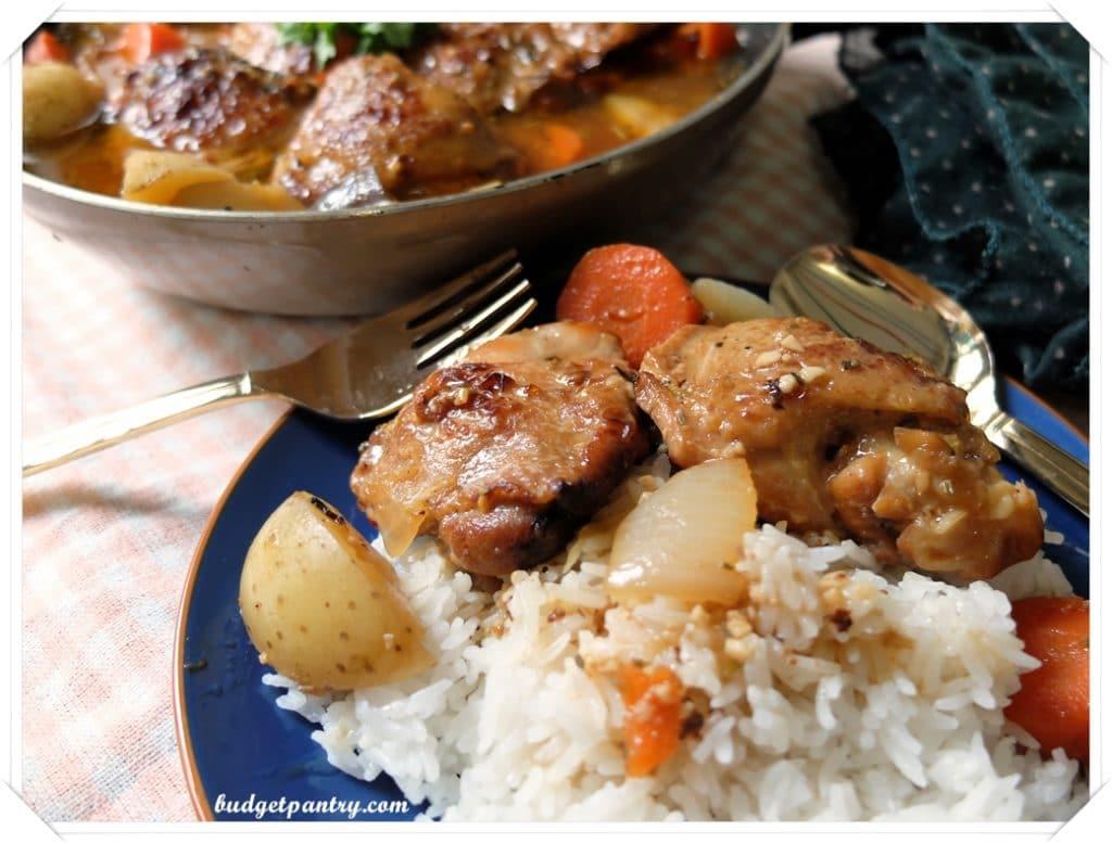 Mar 31- Braised Herb Chicken with Shio Koji 4
