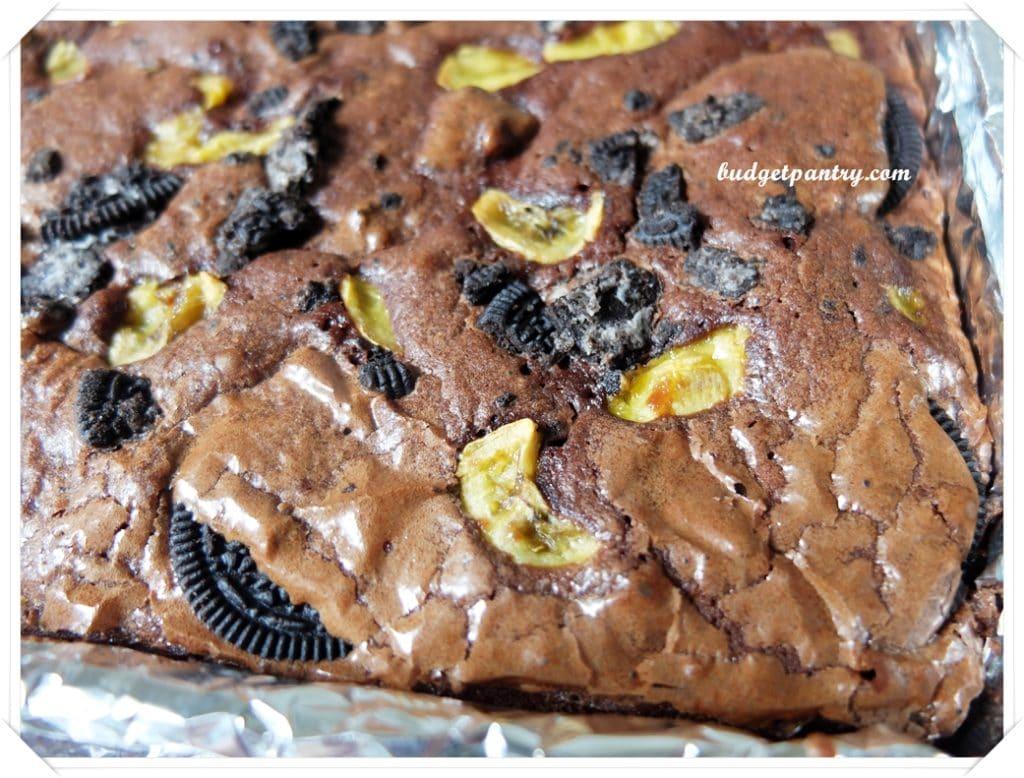 Mar 9- Oreo Banana Brownie baked