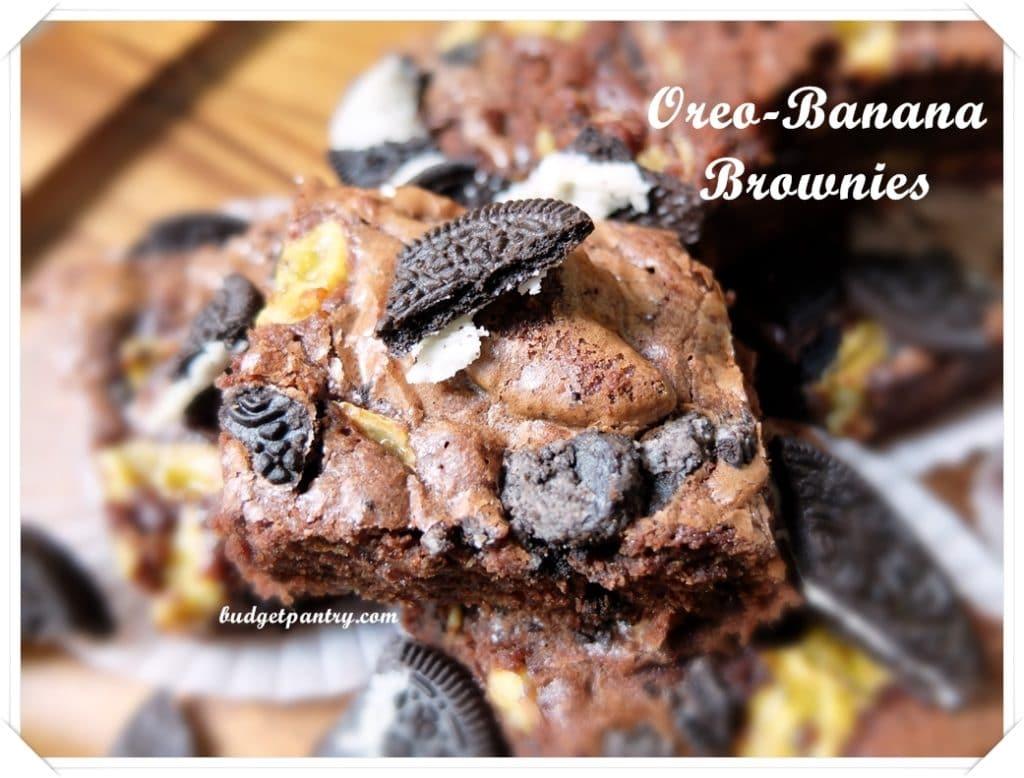 Mar 9- Oreo Banana Brownie main