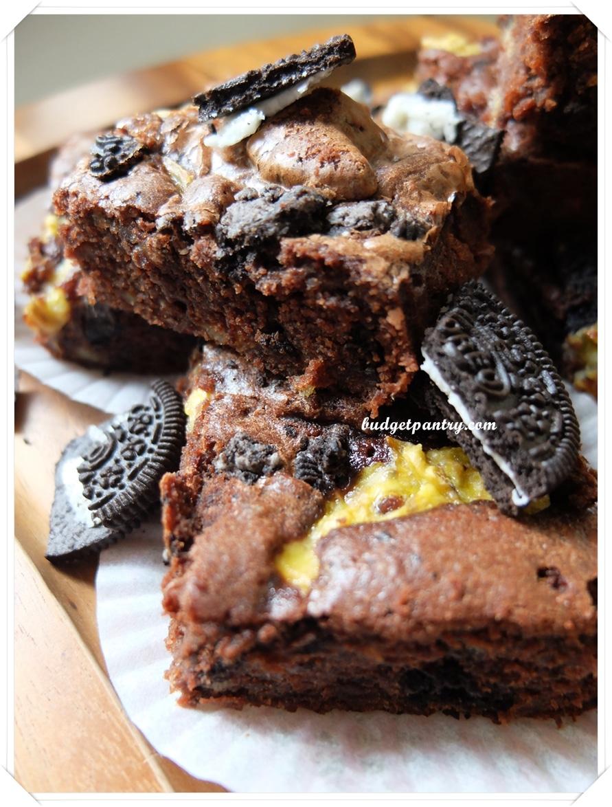 Mar 9- Oreo Banana Brownie verticle