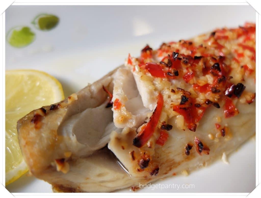 March 27- Garlic lemon mackerel