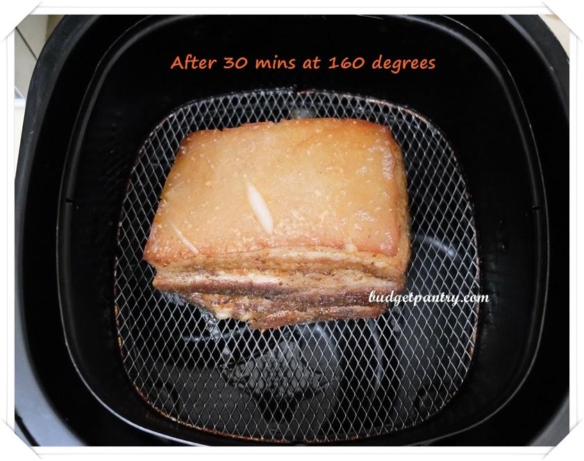 Airfried Roast Pork Belly Sio Bak 9a