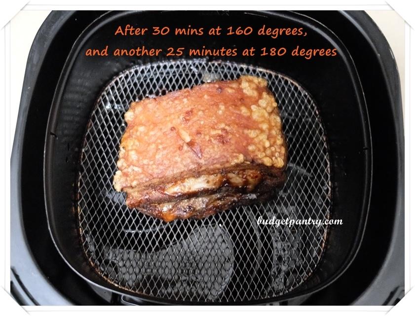 Airfried Roast Pork Belly Sio Bak 9b