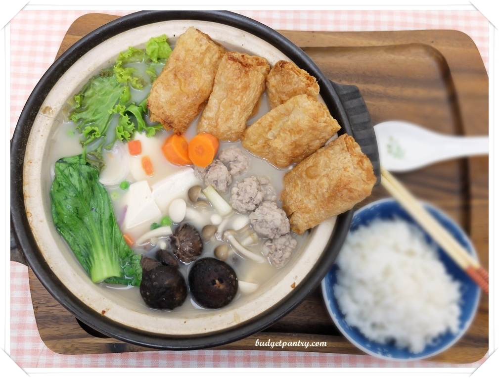 April 18- Japanese Tonyu Nabe1