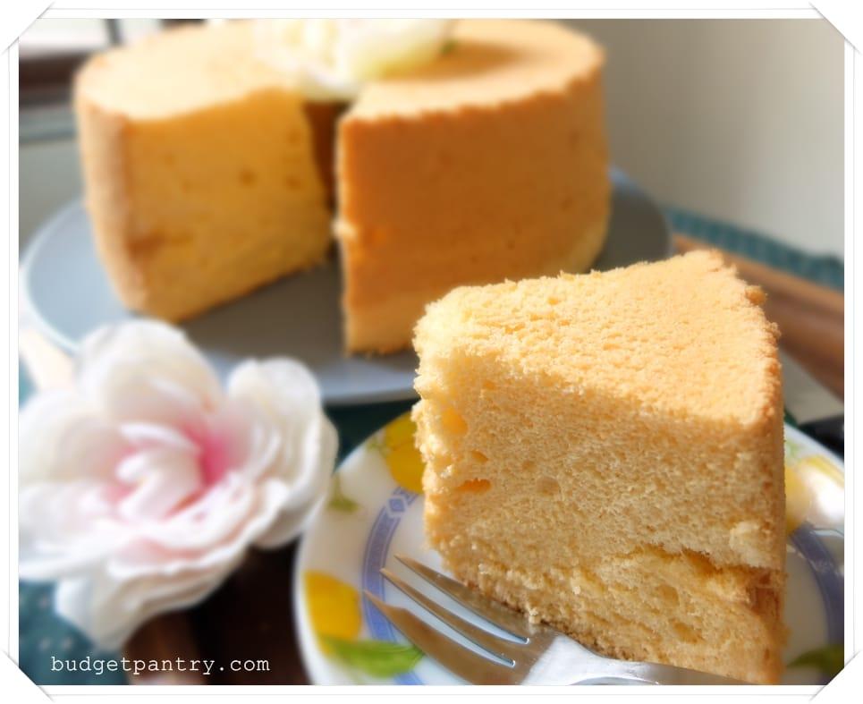 May 15- Orange Chiffon Cake1