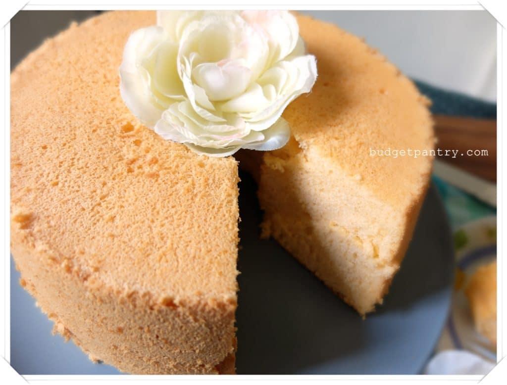 May 15- Orange Chiffon Cake2