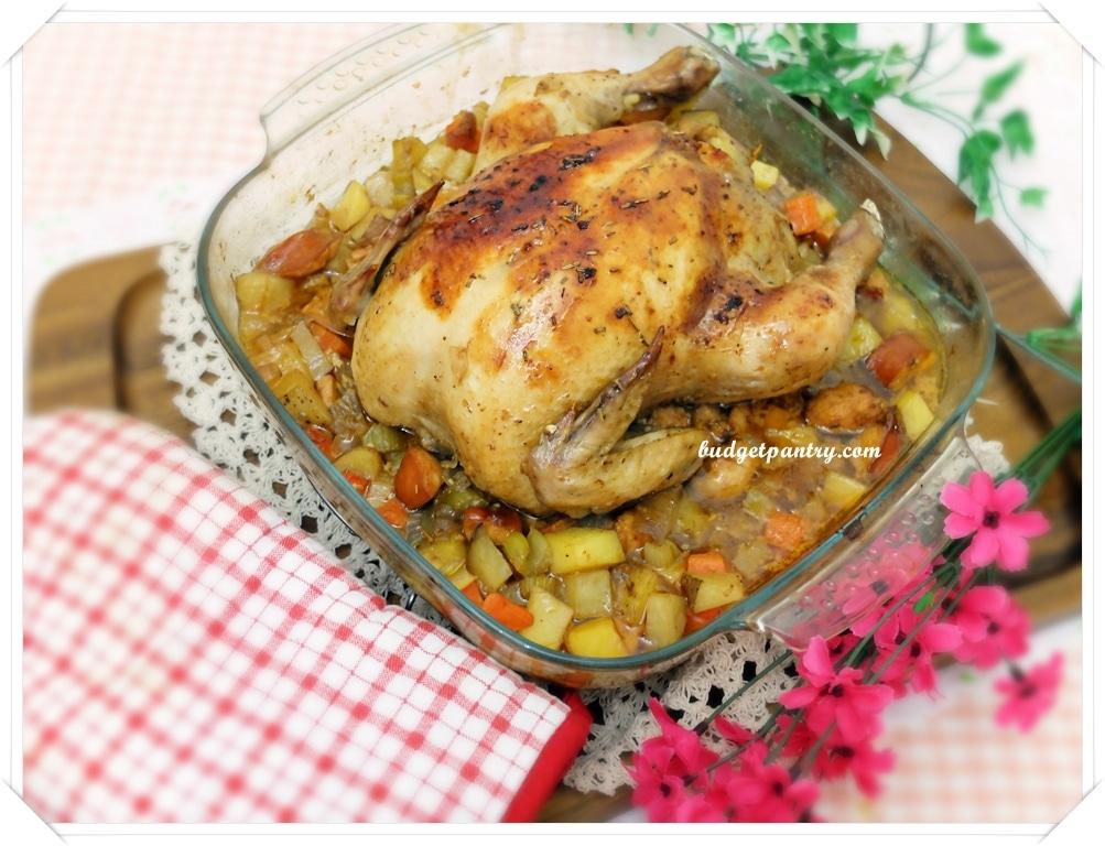 Jun 17- Roasted Stuffed Chicken1