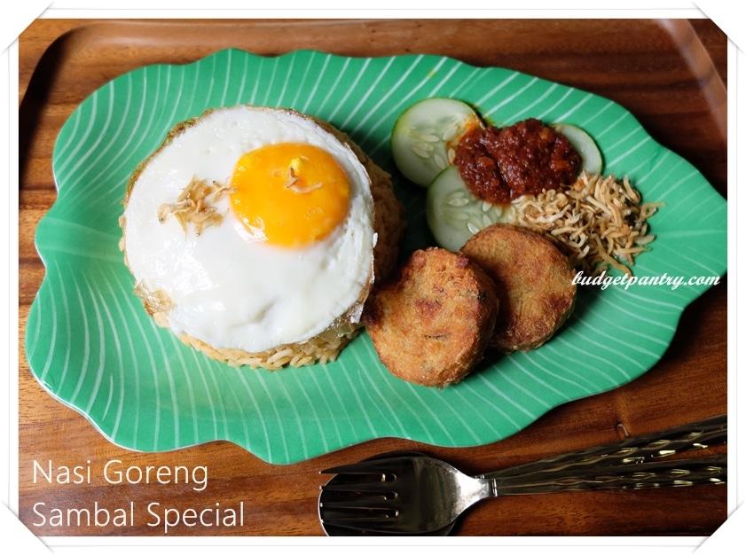 June 14- Nasi Goreng Sambal Special