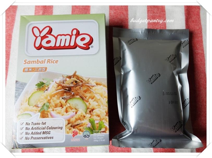 June 14- Nasi Goreng Sambal Yamie