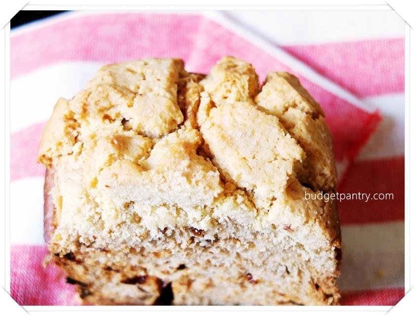 26 July 2014- Pineapple Bread Loaf