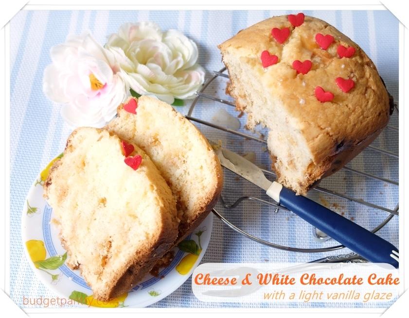 July 27- Cheese and White Chocolate Cake0