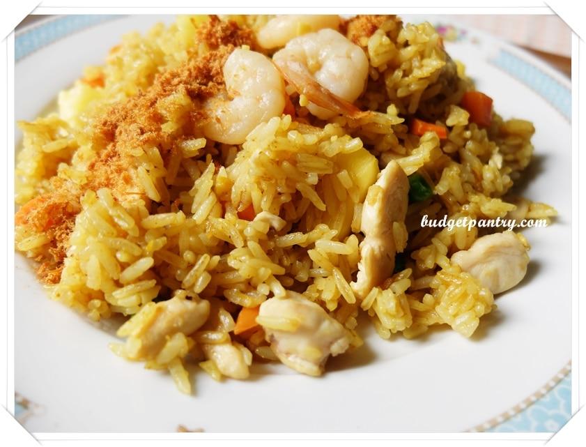 Aug 16- Pineapple Fried Rice Floss1