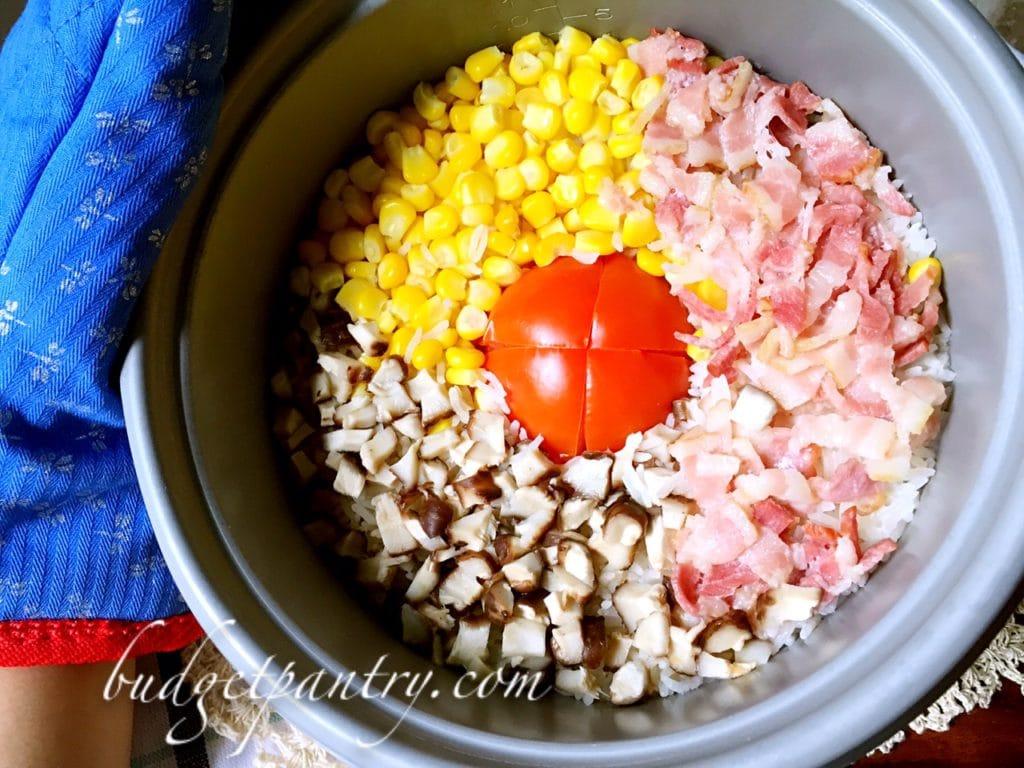 Nov 30- Rice cooker tomato rice