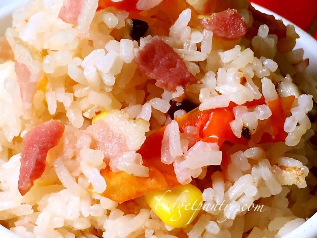 Nov 30- Ricecooker tomato rice