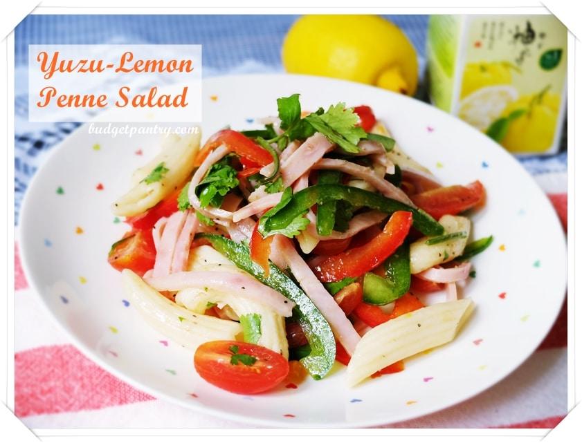 Dec 29- Yuzu Lemon Pasta Salad