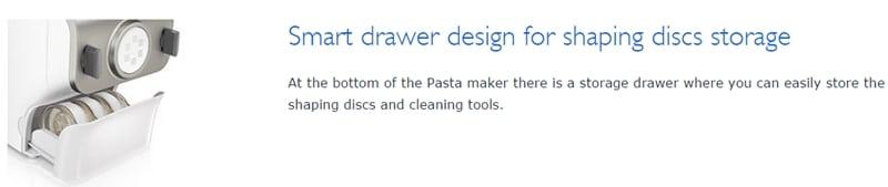 Philips Noodle Maker storage