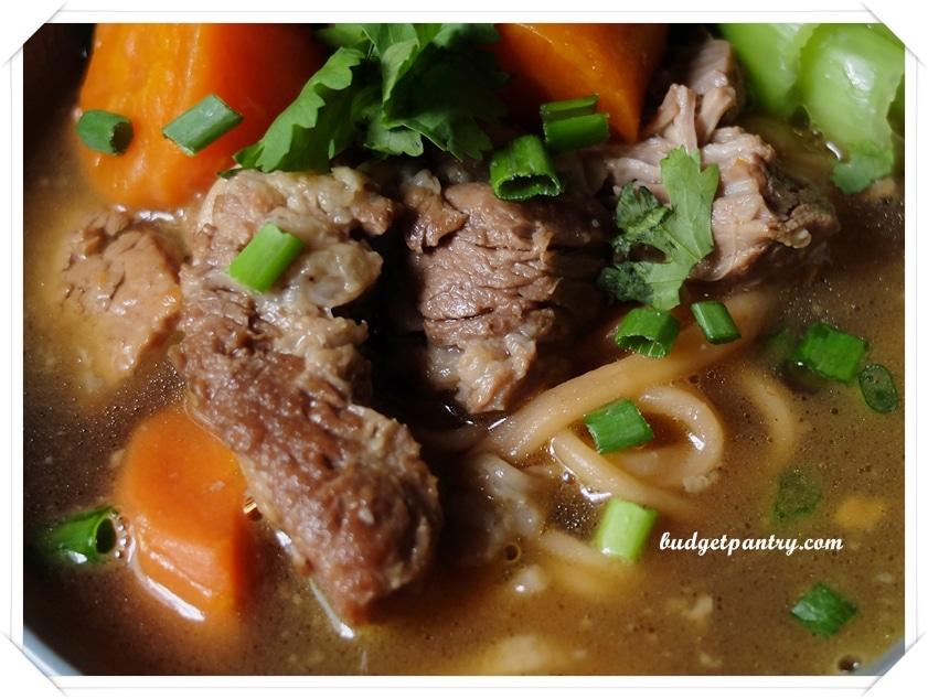 Stewed Pork Noodle Soup 2