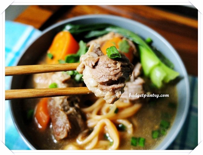 Stewed Pork Noodle Soup 3
