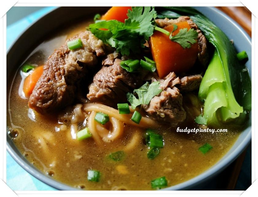 Stewed Pork Noodle Soup 6