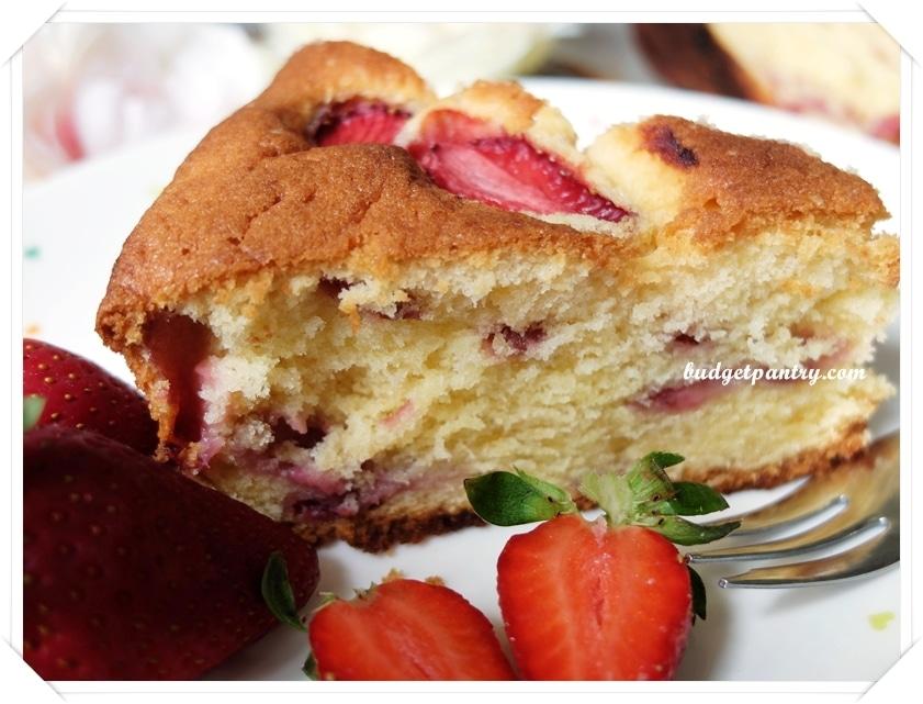 Jan 4- Strawberry Soya Milk Cake 3