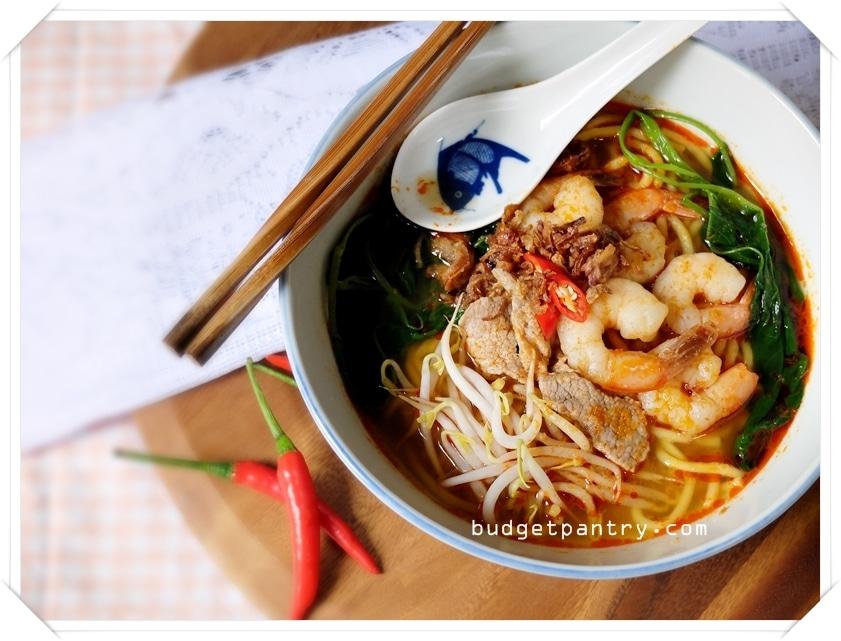 Feb 7- Prawn Noodle Soup