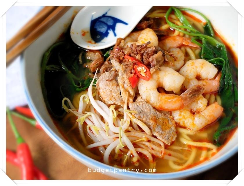 Feb 7 - Prawn Noodle Soup1