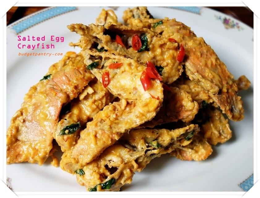 Mar 8 - Salted Egg Crayfish 1