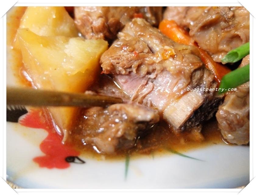Apr 29 - Slow Cooker Braised Pork Ribs 2