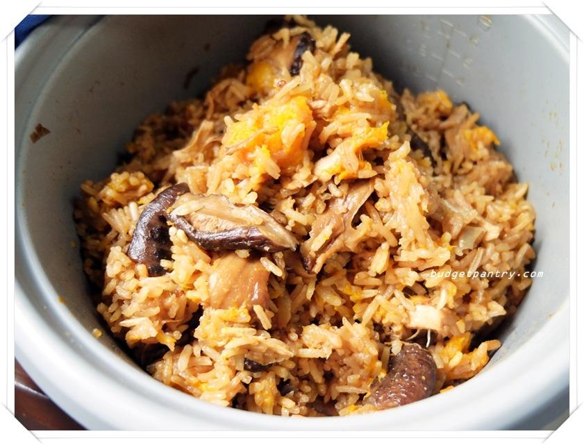 May 6 - Traditional Pumpkin Rice