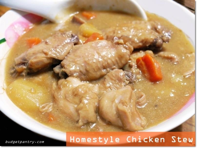 Jun 10 - Chicken Stew