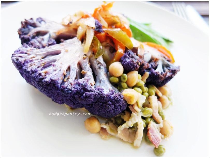 Jun 16 - Grilled Cauliflower Steaks