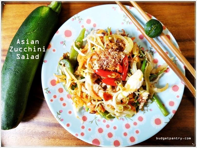 August 29 - Asian Zucchini Salad Main