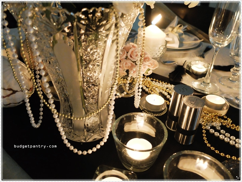 IKEA Dining - The Great Gatsby Wedding Candlelight1